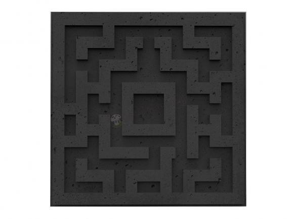 Panele dekoracyjne 3D Quest Graphite Lava - ZICARO