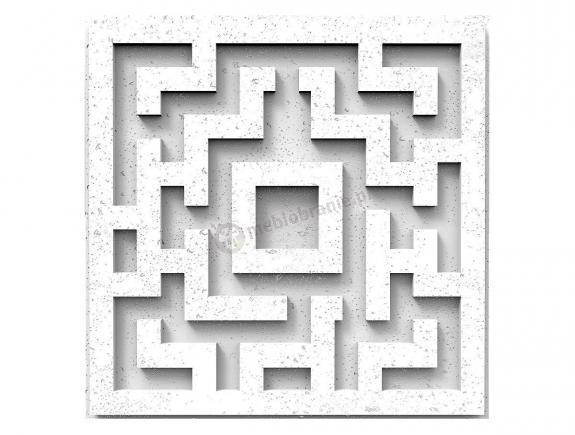 Panele dekoracyjne 3D Quest White Flash - ZICARO