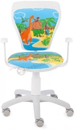 Krzesło obrotowe dla dzieci Ministyle Cartoons Line GTP TS22 Dino