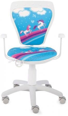 Krzesło obrotowe dla dzieci Ministyle Cartoons Line GTP TS22 Pony