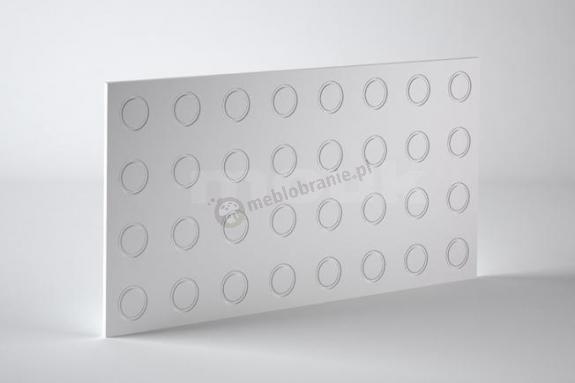 Panele dekoracyjne 3D mdf Mouk - Dm-Ring - 50x100cm