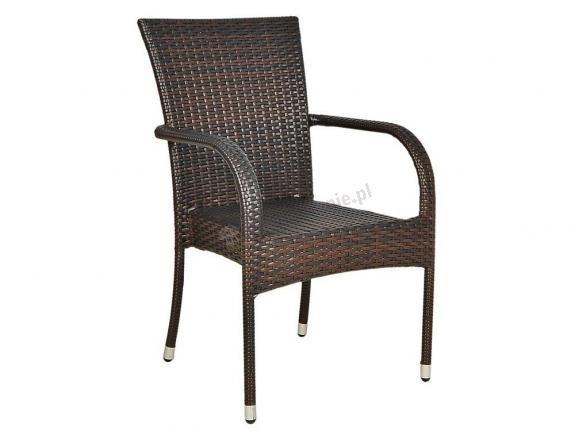 Krzesło Rimini technorattan Brown