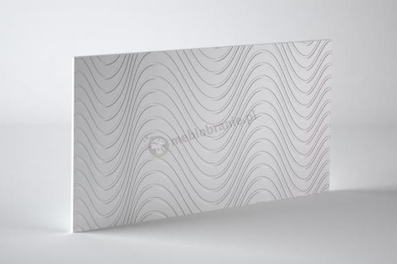 Panele dekoracyjne 3D mdf Mouk - Dm-Ondas - 100x100cm
