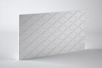 Panele dekoracyjne 3D mdf Mouk - Dm-Poisson - 250x100cm