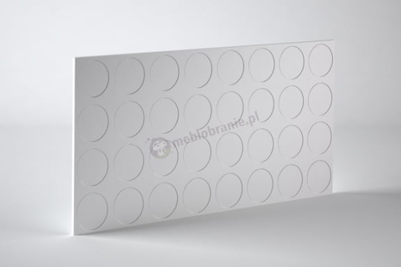Panele dekoracyjne 3D mdf Mouk - Dm-Glob - 100x100cm