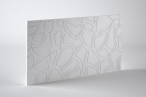 Panele dekoracyjne 3D mdf Mouk - Dm-Turtle - 250x100cm