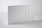 Panele dekoracyjne 3D mdf Mouk - Dm-Flower - 100x100cm