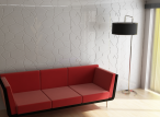 Panele dekoracyjne 3D mdf Mouk - Dm-Gaudí - 50x100cm