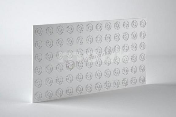 Panele dekoracyjne 3D mdf Mouk - Dm-Double Ring - 100x100cm