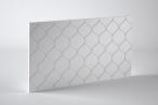 Panele dekoracyjne 3D mdf Mouk - Dm-Pompeya - 100x100cm