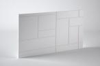 Panele dekoracyjne 3D mdf Mouk - Dm-Cuadratic - 100x100cm