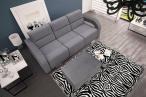 Sofa rozkładana 3 osobowa z pufą Aliss