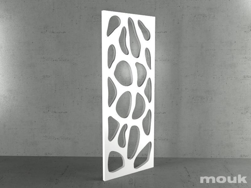 Panele Ażurowe Dekoracyjne Mdf Mouk Lm Spore 100x240 18mm
