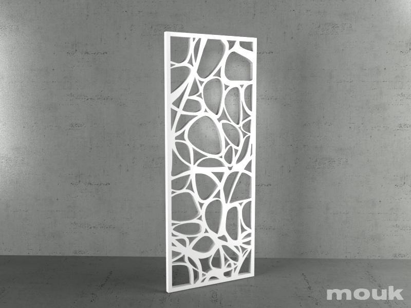 Panele Ażurowe Dekoracyjne Mdf Mouk Lm Ribbon 100x240 18mm