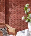 Zastosowanie na elewacji - Arnhem Rosso Incana Brick