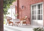Imitacja cegły elewacja - Arnhem Rosso Incana Brick