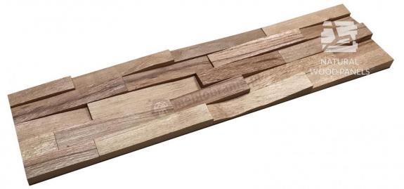 Buk europejski - cegiełka drobna ciosana *003 - Natural Wood Panels