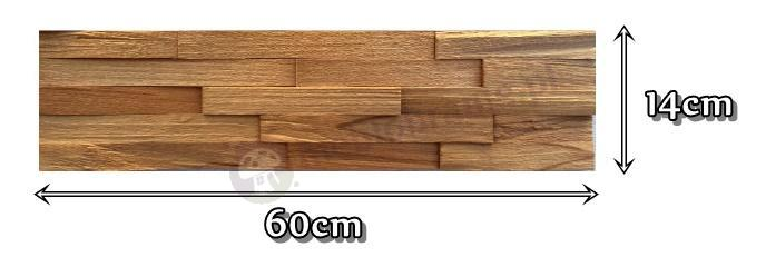 Buk europejski -cegiełki drobne ciosane *003 - wymiary