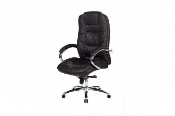 Fotel biurowy Monterey Black PU Chrome
