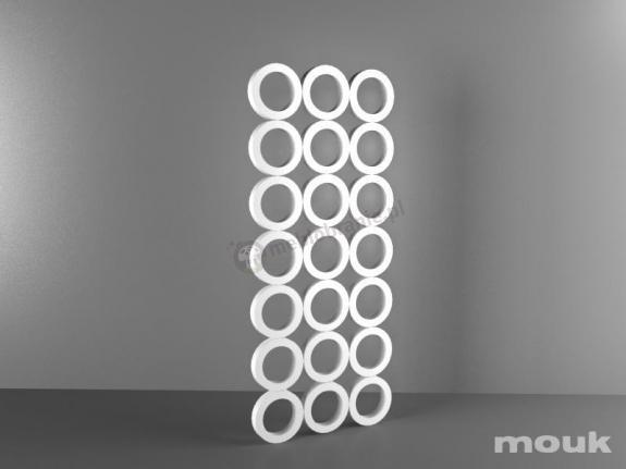 Panele ażurowe dekoracyjne mdf Mouk - Lm-3Hop - 100x240 - 18mm