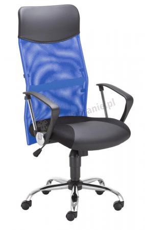Krzeslo biurowe niebieskie - Hit