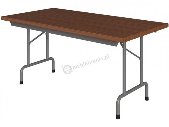 Składany stół konferencyjny 160x80cm Rico 2 orzech