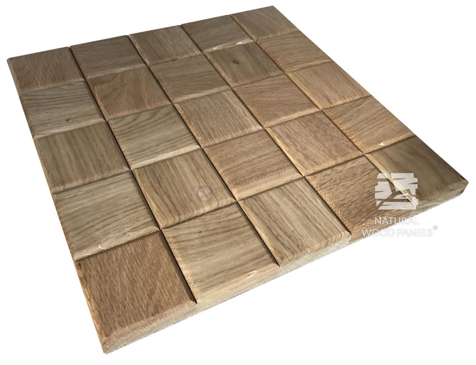 Panele CHOCO LUXURY series – dąb natur Natural Wood Panels