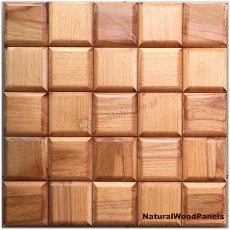 Panele drewniane CHOCO LUXURY series – BUK gold - Natural Wood Panels