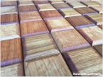 Panele drewniane CHOCO LUXURY series – Jatoba - Natural Wood Panels