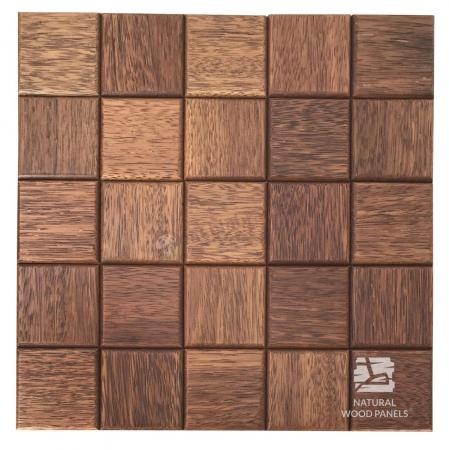 Panele drewniane CHOCO LUXURY series – Merbau - Natural Wood Panels
