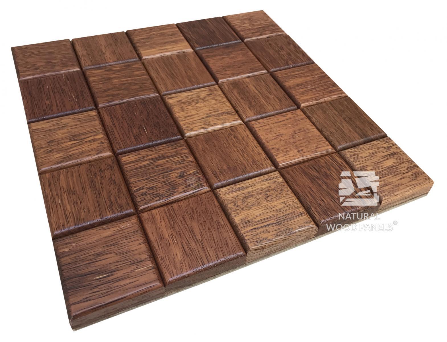 Panele CHOCO LUXURY series – Merbau Natural Wood Panels