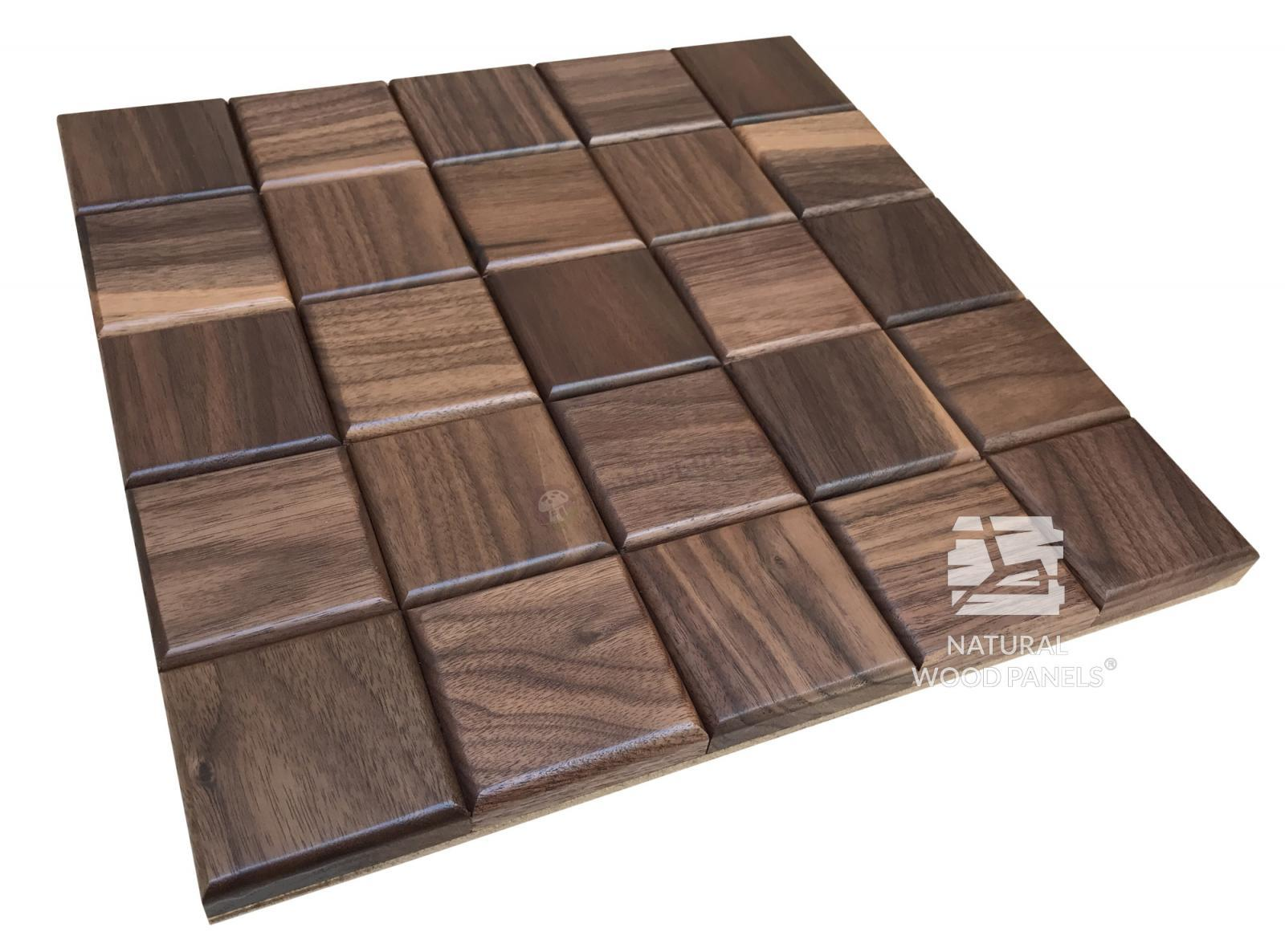 Panele CHOCO LUXURY series – Orzech amerykański Natural Wood Panels
