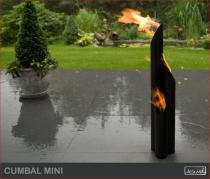 Biokominek zewnętrzny Kami - biolampa Cumbal Mini