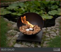Biokominek zewnętrzny Kami - biolampa Bud Dajo