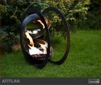 Biokominek zewnętrzny Kami - biolampa Atitlan