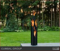 Biokominek zewnętrzny Kami - biolampa Cumbal Group