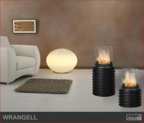Biokominek zewnętrzny Kami - biolampa Wrangell 1000 K