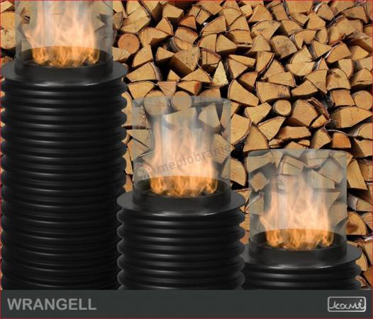 Biokominek zewnętrzny Kami - biolampa Wrangell 750 K