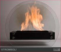 Biokominek wolnostojący Kami - Stromboli 60 czarny
