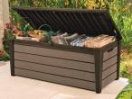 Keter Brushwood Storage Box 455L - skrzynia ogrodowa brązowa