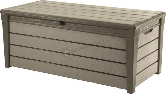 Keter Brushwood Storage Box 455L - skrzynia ogrodowa jasno szara