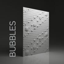 Gipsowe panele 3D na ścianę Dunes Bubbles