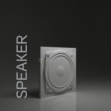 Gipsowe panele 3D na ścianę Dunes Speaker