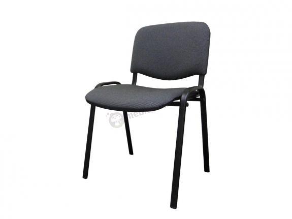 Krzesło ISO Black C26 - tapicerowane czarno-szare - oferta Pakiet
