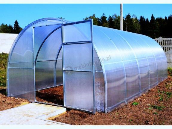 Szkarnia ogrodowa z poliwęglanu Agro Standard 3x8x2,1 (24m2)