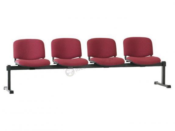 Ławka ISO-4 - tapicerowana ławka do poczekalni