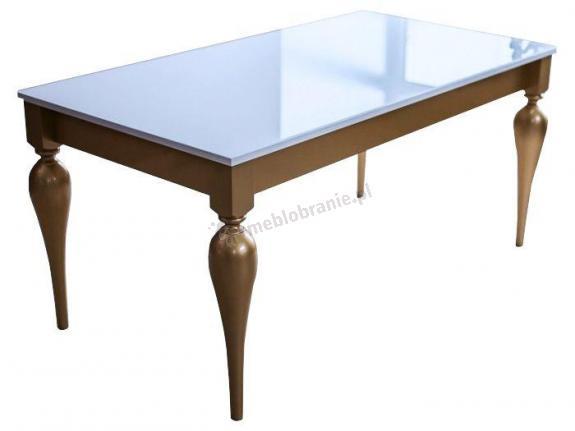 Milano elegancki stół z szybą