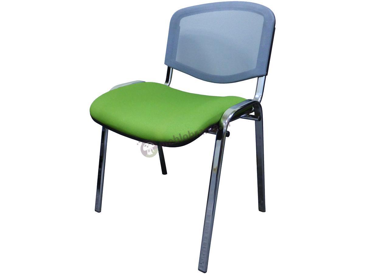 Krzesło ISO Ergo Mesh Zielone tkanina Bondai BN7048