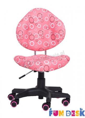 SST5 Pink krzesło dla dziecka do biurka Fun Desk