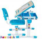 Bambino Blue regulowane biurko dla dziecka